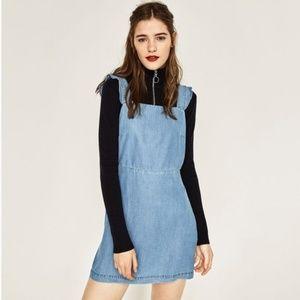 Zara Chambry Overall Dress